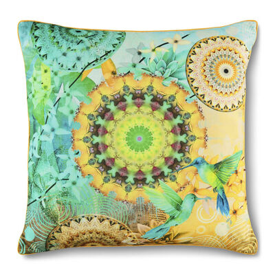 HIP Oreiller décoratif GIADA 48x48 cm Multicolore
