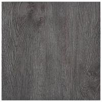 vidaXL Planches de plancher autoadhésives 5,11 m² PVC Marron