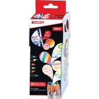 edding Feutres pinceaux 20 pcs à mélangeur de couleurs