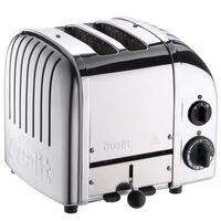Grille pain DUALIT 2 Fentes - 1200W CLASSIC Inox 27030