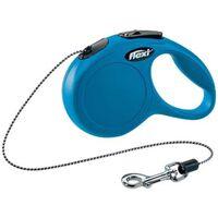 Flexi new classic cordon mini 3m bleu