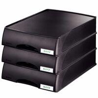 Leitz Unité de plateaux à tiroir Noir
