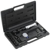 """vidaXL Kit de clé à cliquet pneumatique 1/2"""" 16 pcs"""