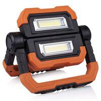 Smartwares Baladeuse rechargeable à LED 21x25x5 cm