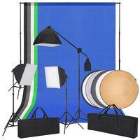 vidaXL Kit de flash de studio et un réflecteur