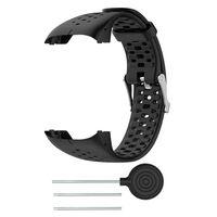 Bracelet pour montre de sport Polar M400 / M430 - noir