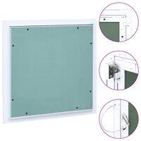 vidaXL Panneau d'accès Cadre en aluminium plaque de plâtre 200x200 mm