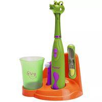 Bestron Ensemble de brosse à dents pour enfants Crocodile DSA3500A
