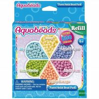 Perles Aquabeads : Recharge pastel