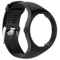 Bracelet pour Polar M200 silicone noir