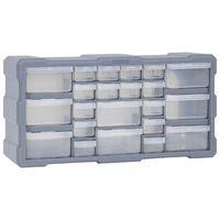 vidaXL Organisateur multi-tiroirs avec 22 tiroirs 49x16x25,5 cm