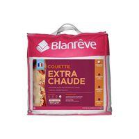 BLANREVE Couette extra chaude en microfibre - 140 x 200 cm - Blanc