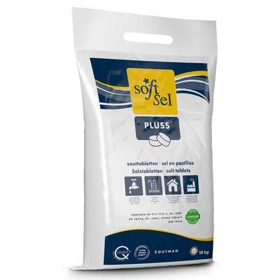 ZOUTMAN Sel en pastilles Soft Gel Pluss 10 kg
