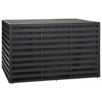 vidaXL Boîte de rangement de jardin Aluminium 150x100x100cm Anthracite