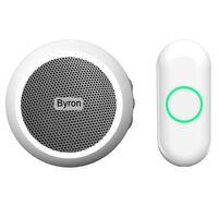 Byron Ensemble de sonnette enfichable sans fil Blanc