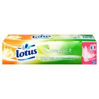 Lotus Compact Mouchoirs Blancs 6 Etuis (lot de 6)