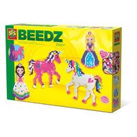 SES Creative Beedz Perles à repasser licornes et princesses 2100 pcs