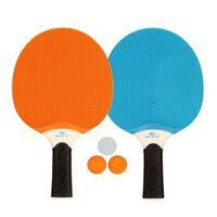 Ensemble tennis de table Get & Go bleu/orange/gris clair