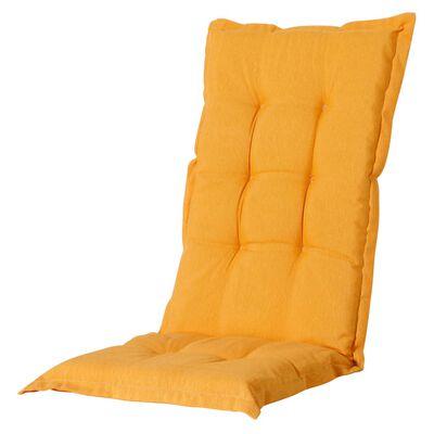 Madison Coussin de chaise à dossier bas Panama 105x50 cm Lueur dorée