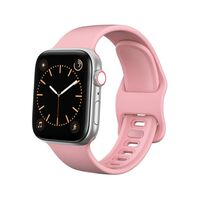 Bracelet Apple Watch 42/44 silicone - Rose