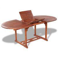 vidaXL Table de jardin 200x100x74 cm Bois d'acacia massif