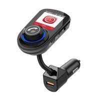 Adaptateur Bluetooth pour la voiture - Émetteur FM - Chargeur de voitu