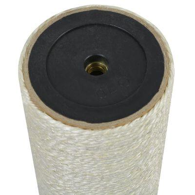 vidaXL Grattoir pour chats 8 x 55 cm 10 mm Beige
