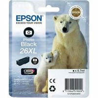 EPSON Cartouche T2631 - Ours polaire - Noir Photo XL