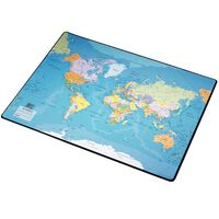 Esselte Sous-main Carte du monde 41x54 cm