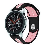 Bracelet Samsung Galaxy Watch 46 mm - noir / rose - L