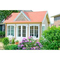 Alpholz Maison de jardin modèle clockhouse-28