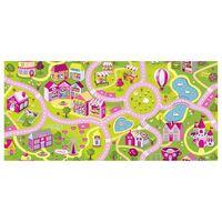 AK Sports Tapis de jeu Sweet Town 140 x 200 cm 140