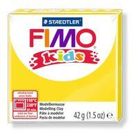 Pâte Fimo Kids 42 g Jaune 8030.1 - Fimo