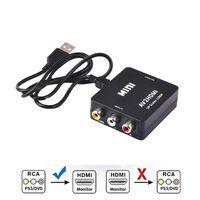 Adaptateur Cinch vers HDMI Converter - Noir