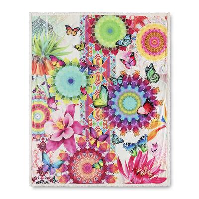 HIP Plaid FELIZ 130x160 cm Multicolore