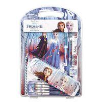 Frozen 2 / La Reine De Neige 2, Set De Papeterie - 12 Pièces