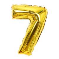 Ballon 53 cm, numéro 7 - or