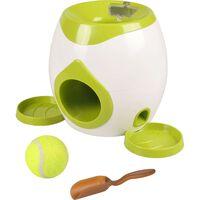 FLAMINGO Jouet interactif pour chiens Fetch & Treat Wilson 517922