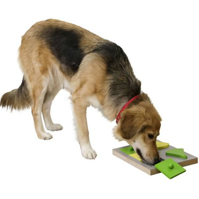 Kerbl Jouet de réflexion et d'apprentissage de chiens Cake 30x23x4,5cm