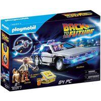 PLAYMOBIL 70317 - Retour vers le Futur DeLorean (Best Seller)