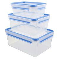 Lot De 3 Boîtes Alimentaires Plastique 1l, 2,3l Et 3,7l - 508567