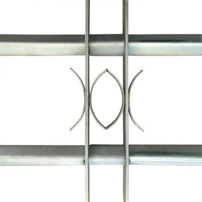 vidaXL Grille réglable de sécurité de fenêtres et 2 barres 700-1050 mm
