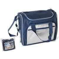 Sac Isotherme / Coolbag 21 Litres - Bleu/argent - 36x22x30cm