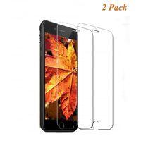 Protecteur d'écran iPhone 8 en verre trempé - pack de 2 transparents