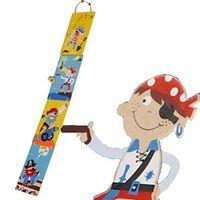 Il suffit pour les enfants en bois 22111P Pirates Groeimeter