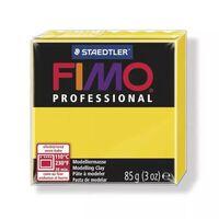 Pâte Fimo 85 g Professional Jaune 8004.100 - Fimo