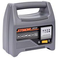 Sthor Chargeur de batterie avec LED 12V 6A 90Ah