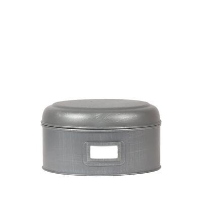 LABEL51 Boîte de stockage 22x12 cm L, Antiquegrey