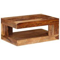 vidaXL Table basse Bois