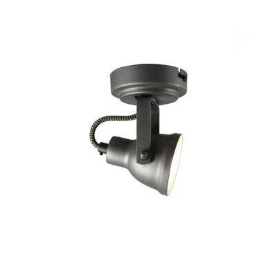 LABEL51 Projecteur à LED à 1 lumière Max 9x9x13 cm Gris